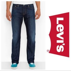 Levi's 514 29x32 Straight Fit Blue Jeans